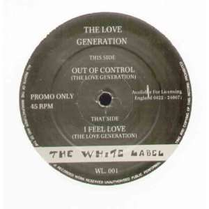 LOVE GENERATION   OUT OF CONTROL   12 VINYL: LOVE
