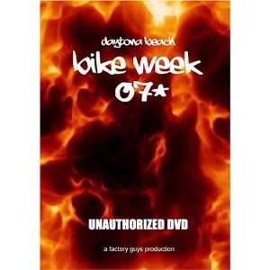 Daytona Bike Week 2007 Unauthorized DVD Eric Tompkins Movies & TV