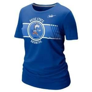 Boise State Broncos Womens Nike Vault Royal Retro T Shirt