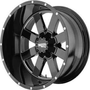 Moto Metal MO962 20x9 Black Wheel / Rim 6x135 with a 0mm Offset and a