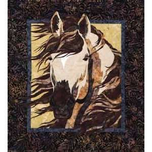 11109 PT Spring Storm, A Horse Quilt Pattern by Toni