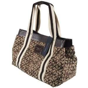 Tommy Hilfiger Logo Medium Iconic Tote Handbag Purse Bag