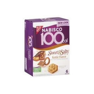 Nabisco 100 Calorie Packs Baked Snacks, Sweet & Salty Mix