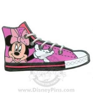 Character Sneaker   Minnie Mouse on Hi Tops Pin 69827