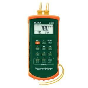 Seven Thermocouple Dual Input Datalogger with Alarm