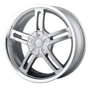 14x6 Sacchi S12 (212) (Hyper Silver w/ Machined Lip) Wheels/Rims 5x100