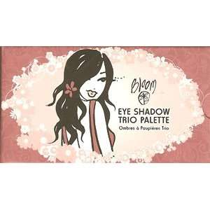 Bloom Cosmetics   Miss Bloom Loves Pink Pink Eye Shdaow Trio Palette
