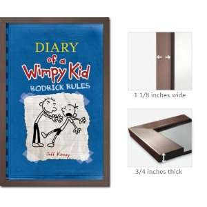 Slate Framed Diary Wimpy Kid Poster Rodrick Rules Fr6397