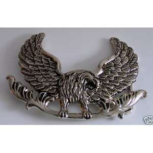 Falcon Hawk Wild Flying Bird of Prey Belt Buckle Everything Else