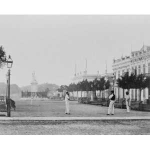 early 1900s photo Isla de Cuba. Parque de Ysabel II
