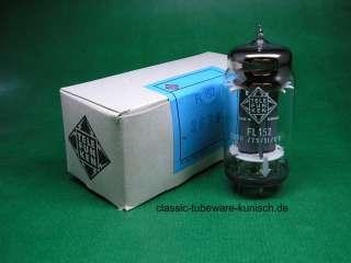 10 x FL152 Telefunken tubes NOS   NIB   tube amp ( ~ EL152 )