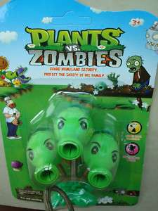 3X Plants Vs Zombies(PVZ) Game Kids Pea PEASHOOTER Toy