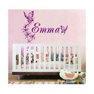CHILDS NAME VINYL WALL DECAL DECOR CUSTOM NURSERY KIDS 00018