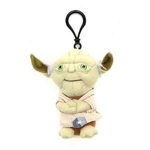 Star Wars Yoda Talking Plush Clip On (4 Inch Keychain) Toys & Games