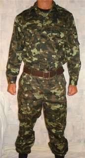 USSR / RUSSIAN MILITARY CAMO UNIFORM SET.BDU SUIT S