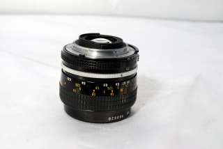 Nikon 55mm f3.5 lens micro Nikkor Ai manual focus 610563625031