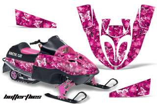 SNOWMOBILE DECAL SLED STICKER KIT ARCTIC CAT 120 SNO PRO YOUTH PINK