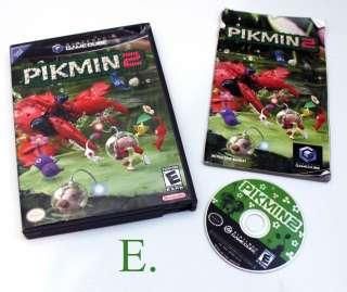 Wii GAMES Mario Party/Pikmin 2/Pokemon/Star Wars/Legend Zelda