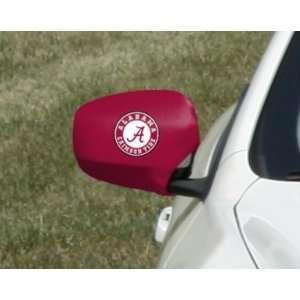 Alabama Crimson Tide Car Mirror Cover (2 Pack) Sports