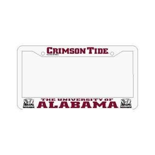 2 Alabama Crimson Tide Car Tag Frames ** Sports