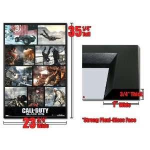 Framed COD Black Ops Poster Screenshots Video Game