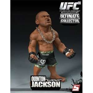 Round 5 Quinton Rampage Jackson Action Figure Sports