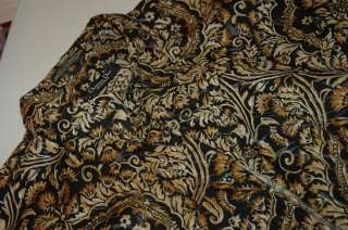 CHRISTIAN DIOR Monsieur Long Sleeve Casual Brown Floral Prints Shirt