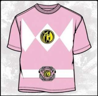 Mighty Morphin Power Rangers Pink Ranger Costume T Shirt