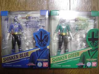 FIGUARTS SHINKEN BLUE GREEN Shinkenger Power Rangers Samurai