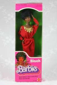 1979 Black BARBIE ** Mattel No. 1293 ** African American Doll ** MIB