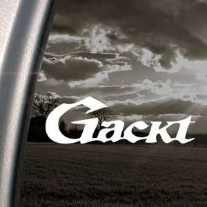 Gackt Decal Jrock Japanese Car Truck Window Sticker