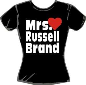 MRS RUSSELL BRAND T SHIRT 8 10 12 14 16 STYLE 2