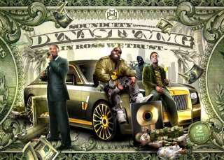 Rick Ross Meek Mill Wale Videos DVD + CD   Dynasty MMG