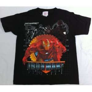 Boy Size Large 7, Iron Man 2, T Shirt Great for Halloween