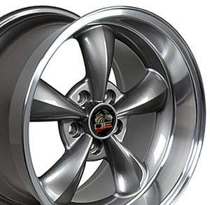 18 9/10 Anthracite Bullitt Wheels Rims Fit Mustang® 94 04