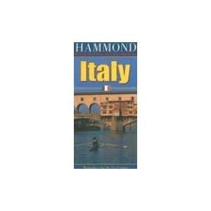 Italy 1800,000 Travel Map (Hammond International (Folded