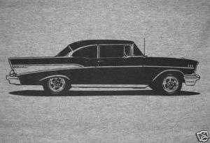 1957 Chevy Bel Air T Shirt, 57 150/210 Hardtop