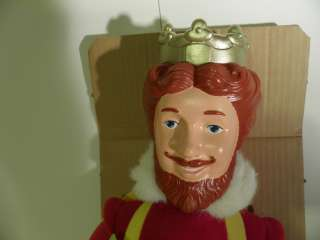 VTG 1980 Burger King Magical 20 Doll Magic Trick Knickerbocker BK