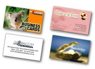 500 Business Cards UV 2 sided & Free Custom Design