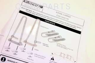 impreza legacy baja kayak roof rack carrier kit genuine subaru part