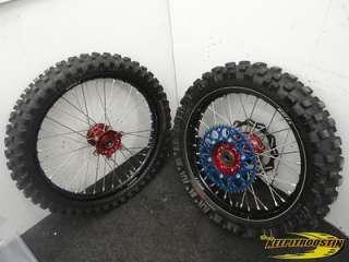 Yamaha YZ250 YZ450 YZ Black Wheel Set 2003 2004 2005 2006 2007 2008