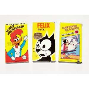 Bunny; Woody Woodpecker; Felix the Cat and Friends: betty Boop, Woody
