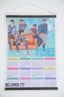Shinee 2012 Korean Band Wall Calendar C3