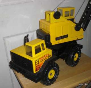 Tonka Truck  Crane with Bucket  All Original  Tires XMB 975