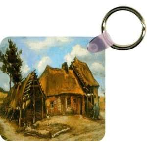 Van Gogh Art Stooping Woman Art Key Chain   Ideal Gift for