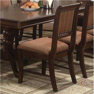 Merlot 9 Piece formal Dining Room Set Table & 8 Chairs
