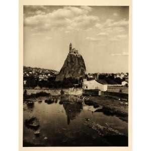 Saint Michel dAiguilhe Le Puy en Velay France   Original Photogravure