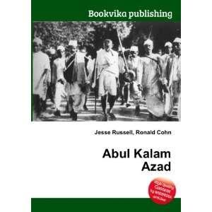 Abul Kalam Azad: Ronald Cohn Jesse Russell: Books