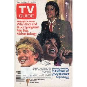 AND BRUCE SPRINGSTEEN MAY BEAT MICHAEL JACKSON) TV GUIDE Books