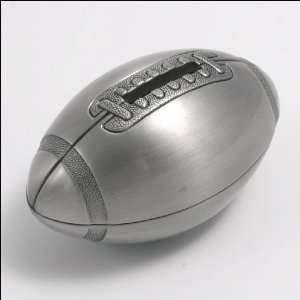 Creative Gifts Pewter Finish Baseball Coin Money Bank   2
